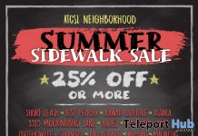 ATCSL Neighborhood Summer Sidewalk Sale 2020 - Teleport Hub - teleporthub.com