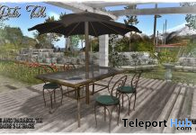 Patio Table Set July 2020 Gift by B.H. Design - Teleport Hub - teleporthub.com