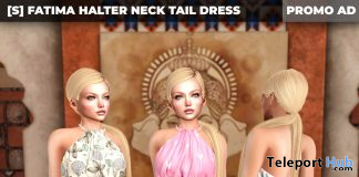 New Release: [S] Fatima Halter Neck Tail Dress by [satus Inc] - Teleport Hub - teleporthub.com