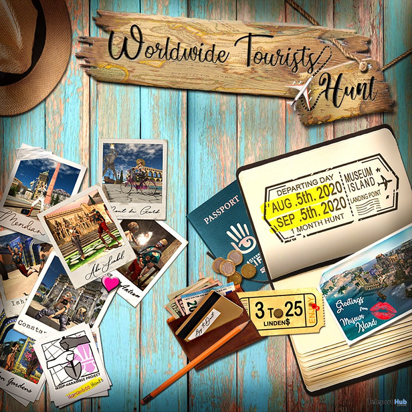 World Wide Tourists Hunt 2020 - Teleport Hub - teleporthub.com