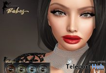 Brigitte Eyes For Lelutka Evo & BOM Layers 5L Promo by LACEY BABES - Teleport Hub - teleporthub.com