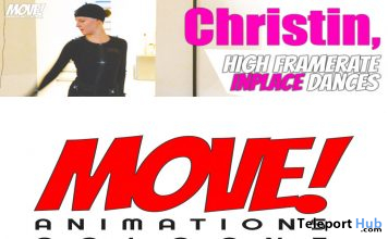 New Release: Christin Bento Dance Pack by MOVE! Animations Cologne - Teleport Hub - teleporthub.com