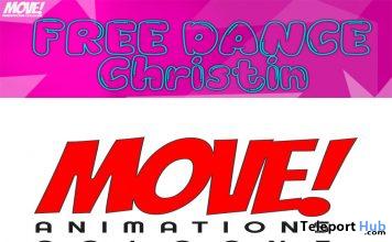 Christin 15 Bento Dance Gift by MOVE! Animations Cologne - Teleport Hub - teleporthub.com
