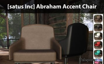 New Release: Abraham Accent Chair by [satus Inc] - Teleport Hub - teleporthub.com