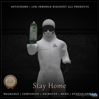 Stay Home Animesh Medical Worker Follower 1L Limited Quantity Promo by Core Animesh Avatars - Teleport Hub - teleporthub.com