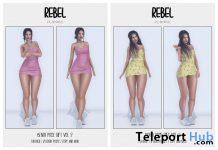 Bento Pose Sets 1 & 2 10L Promo by Rebel Store - Teleport Hub - teleporthub.com