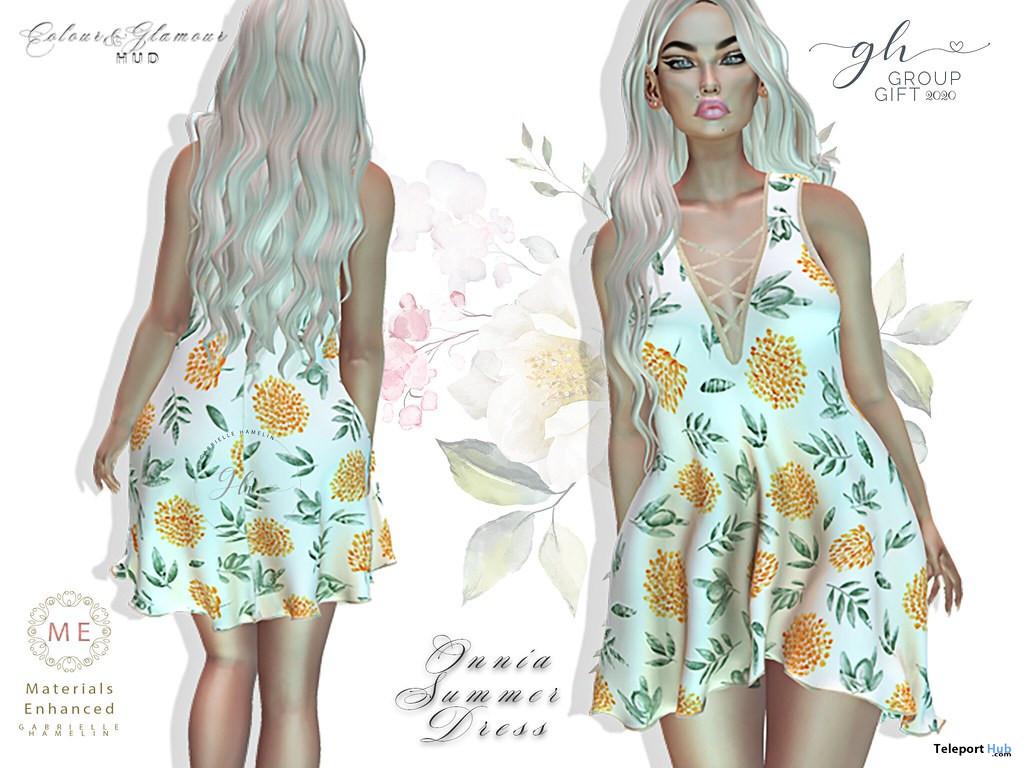 Onnia Corn Flower August 2020 Group Gift by Gabrielle Hamelin - Teleport Hub - teleporthub.com