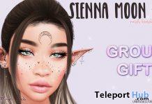 Sienna Moon Mesh Bindi August 2020 Group Gift by +13ACT+ - Teleport Hub - teleporthub.com