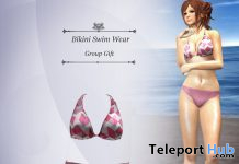Bikini Swimwear August 2020 Group Gift by S@BBiA - Teleport Hub - teleporthub.com