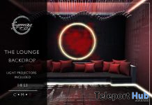 The Lounge Backdrop August 2020 Group Gift by Synnergy - Teleport Hub - teleporthub.com