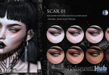 Scar 01 Applier August 2020 Group Gift by Suicidal Unborn - Teleport Hub - teleporthub.com