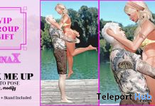 Pick Me Up Couple Bento Pose August 2020 Group Gift by NinaX - Teleport Hub - teleporthub.com