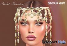 Seashell Headdress August 2020 Group Gift by Hilly Haalan - Teleport Hub - teleporthub.com