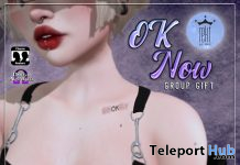 OK Now Tattoo August 2020 Group Gift by Rekt Royalty - Teleport Hub - teleporthub.com