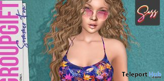 Summer Fun Outfit August 2020 Group Gift by Sass - Teleport Hub - teleporthub.com