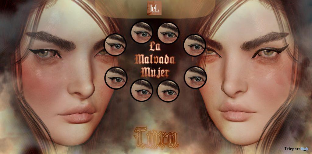 Tura Eyeliner September 2020 Group Gift by La Malvada Mujer - Teleport Hub - teleporthub.com