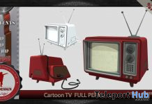 Cartoon TV Full Perm 1L Promo Gift by EFE DESIGN - Teleport Hub - teleporthub.com