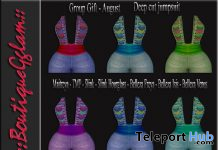 Deep Cut Jumpsuit August 2020 Group Gift by BoutiqueGglam - Teleport Hub - teleporthub.com