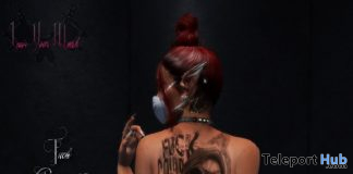 FCovid Back Tattoo August 2020 Gift by Leave Your Mark - Teleport Hub - teleporthub.com