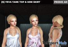 New Release: [S] Yeva Tank Top & Mini Skirt by [satus Inc] - Teleport Hub - teleporthub.com