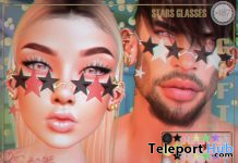 Stars Glasses August 2020 Gift by Boutique #187# - Teleport Hub - teleporthub.com