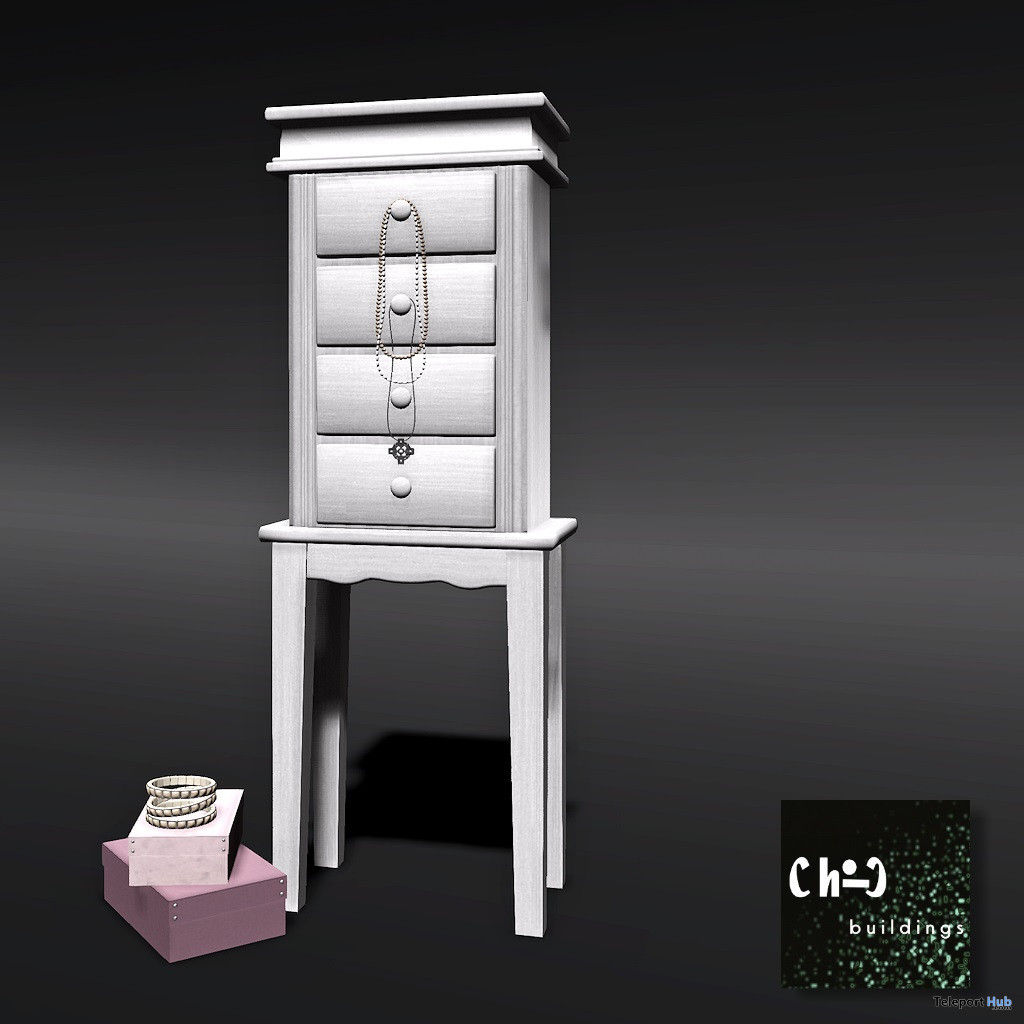 Cluttered Armoire August 2020 Gift by ChiC Buildings - Teleport Hub - teleporthub.com
