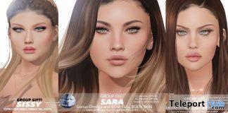 Sissy, Elise, & Sara Skin August 2020 Group Gift by WOW Skins - Teleport Hub - teleporthub.com