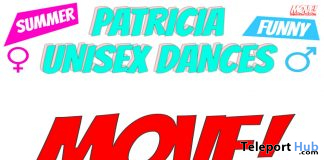 New Release: Patricia Unisex Bento Dance Pack by MOVE! Animations Cologne - Teleport Hub - teleporthub.com