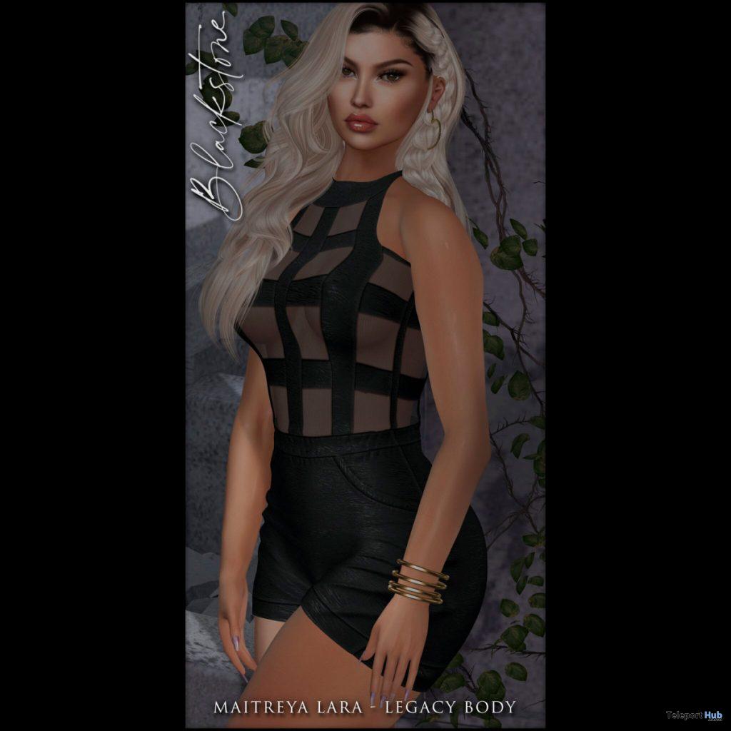 New Release: Emily Short Jumpsuit by Blackstone @ Sense Event August 2020 - Teleport Hub - teleporthub.com