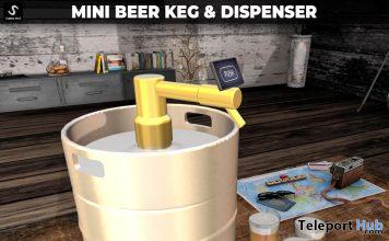 New Release: Mini Beer Keg & Dispenser by [satus Inc] - Teleport Hub - teleporthub.com
