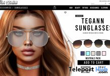 Tegann Sunglass Pack Neutrals August 2020 Group Gift by Cinnamon Cocaine - Teleport Hub - teleporthub.com