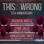 THIS IS WRONG 5th Anniversary Celebrations 2020 - Teleport Hub - teleporthub.com