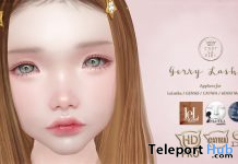 Gerry Lashes September 2020 Group Gift by C'est la vie! - Teleport Hub - teleporthub.com