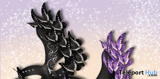 Butterfly Mask September 2020 Group Gift by Zenith - Teleport Hub - teleporthub.com