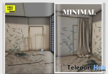 Construction Backdrop September 2020 Group Gift by MINIMAL - Teleport Hub - teleporthub.com
