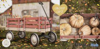 Pumpkin Patch Wagon September 2020 Group Gift by hive - Teleport Hub - teleporthub.com
