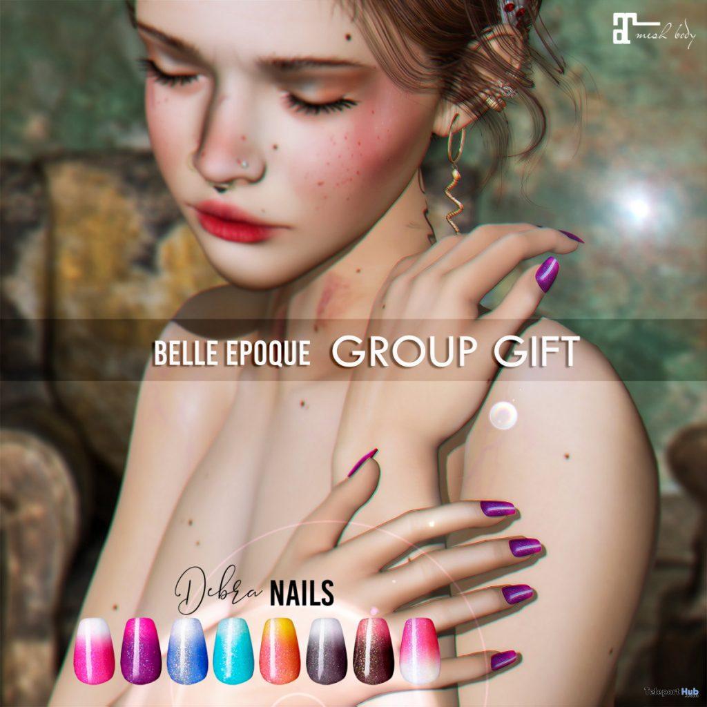 Debra Nails September 2020 Group Gift by Belle Epoque - Teleport Hub - teleporthub.com