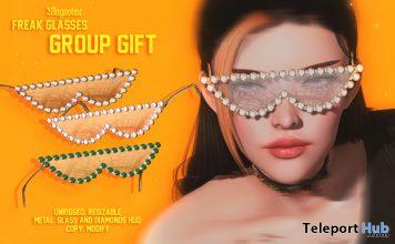 Freak Glasses September 2020 Group Gift by Magnoliac - Teleport Hub - teleporthub.com