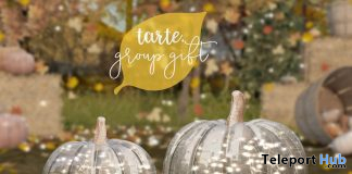 Glass Pumpkins September 2020 Group Gift by tarte - Teleport Hub - teleporthub.com