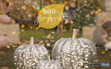 Glass Pumpkins September 2020 Group Gift by tarte - Teleport Hub - teleporthub.com