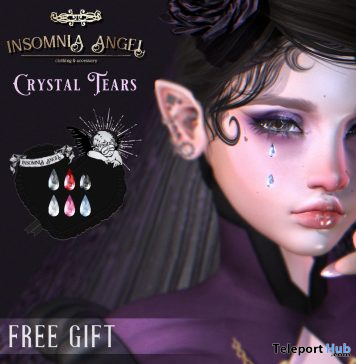Crystal Tears September 2020 Gift by Insomnia Angel - Teleport Hub - teleporthub.com