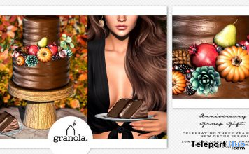 Anniversary Cake September 2020 Group Gift by Granola - Teleport Hub - teleporthub.com