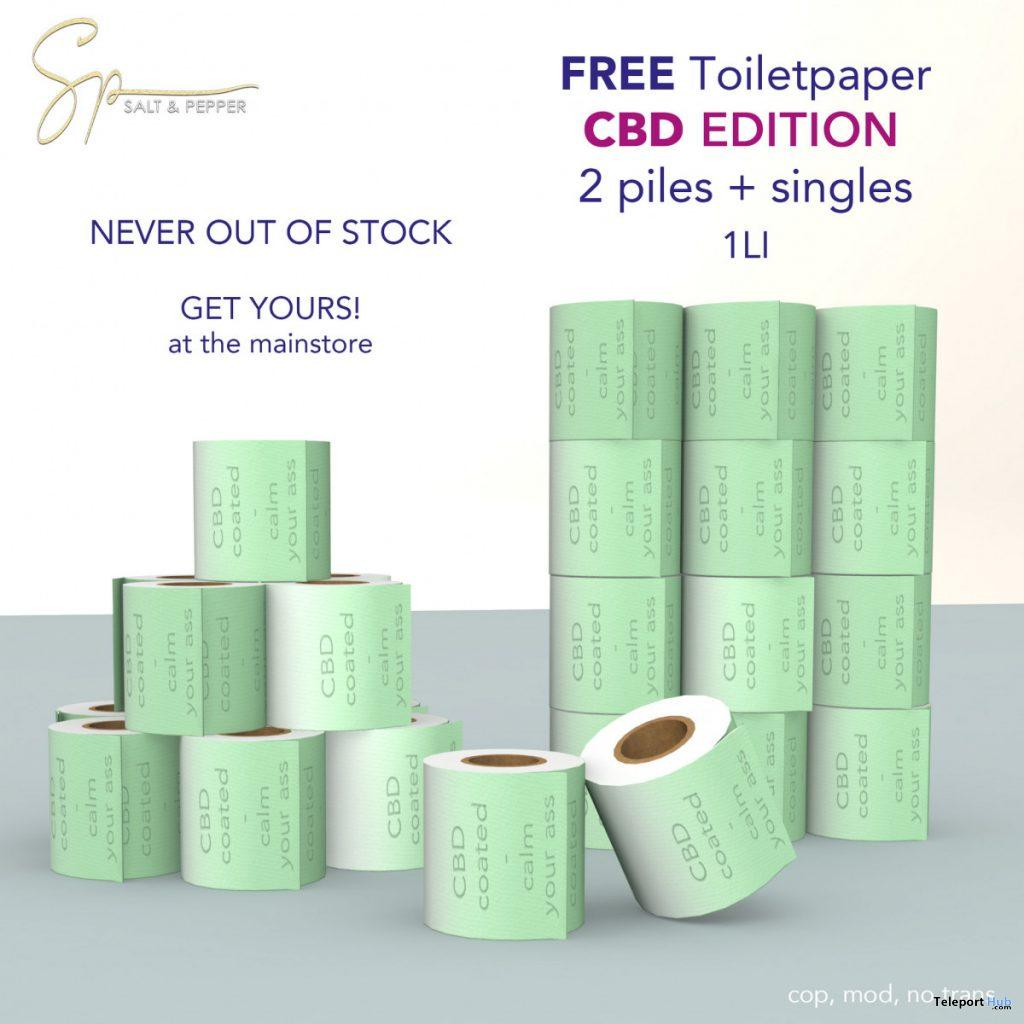 Toiletpaper CBD Edition September 2020 Gift by Salt & Pepper - Teleport Hub - teleporthub.com