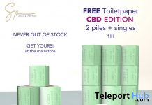 Toiletpaper CBD Edition September 2020 Gift by Salt & Pepper - Teleport Hub - teleporthub.com