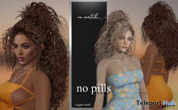 No Pills Hair September 2020 Group Gift by no.match - Teleport Hub - teleporthub.com