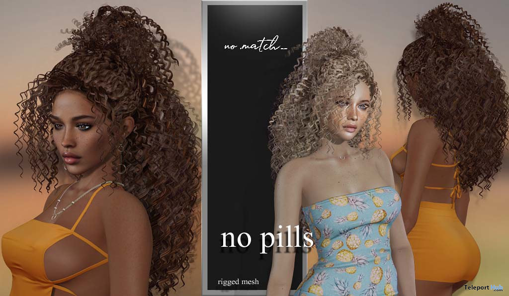 No Pills Hair September 2020 Group Gift by no.match - Teleport Hub - teleporthub.com