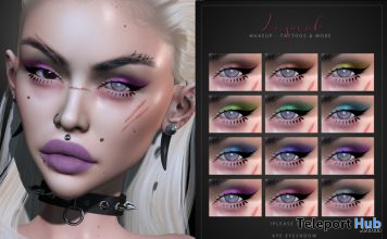 Kye Eyeshadow For Lelutka Evolution September 2020 Group Gift by LePunk - Teleport Hub - teleporthub.com