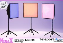 Studio Lights September 2020 Group Gift by NinaX - Teleport Hub - teleporthub.com