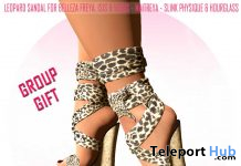 Leopard Sandals September 2020 Group Gift by BE BOLD - Teleport Hub - teleporthub.com