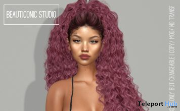 Chloe Shape September 2020 Group Gift by Beauticonic Studio - Teleport Hub - teleporthub.com